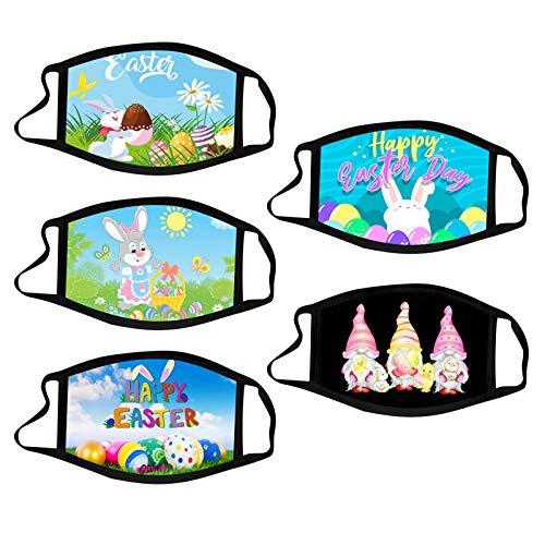 Pascua De Resurrección Mascarilla Máscara Protectora De Tres Capas Lavable Impresión Moda Adulta Hombres Y Mujeres Industrial Ear Loop Para Actividades Fiesta Al Aire Libre