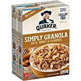 Quaker Simply Granola Honey & Almond, Twin Pack