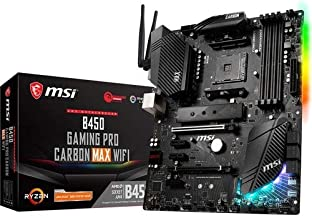 MSI Performance Gaming AMD Ryzen 1st, 2nd, and 3rd Gen AM4 M.2 USB 3.2 Gen 2 DDR4 HDMI Display Port Wi-Fi ATX Motherboard ...