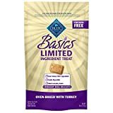 Blue Buffalo Basics Limited Ingredient Diet Turkey & Potato Biscuits Dog Treats 6-Oz