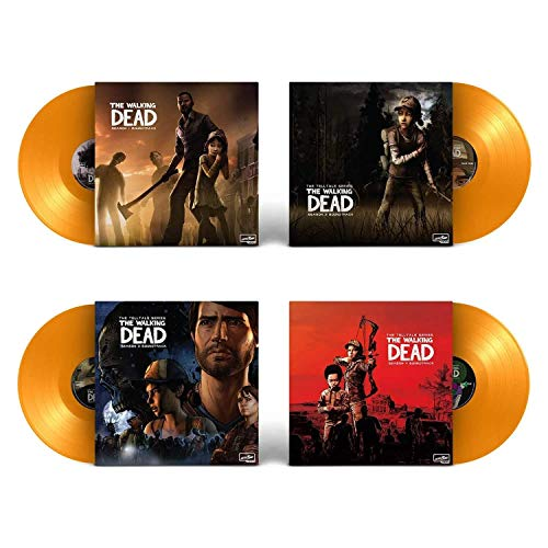 The Telltales Series The Walking Dead (Soundtrack Collection) - Exclusive Limited Edition Yellow Opaque Colored 4x Vinyl Lp Box Set