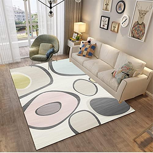 LBMTFFFFFF Casa Soiorno - Alfombra de estilo nórdico, simple y exquisito, rectangular, suave y delicada con la piel, 50 x 120 cm