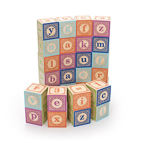Uncle Goose Classic Lowercase ABC Blocks...