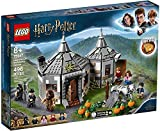 LEGO Harry Potter Hagrid's Hut: Buckbeak's Rescue Building Set with Hippogriff Figure (496 Pieces)
