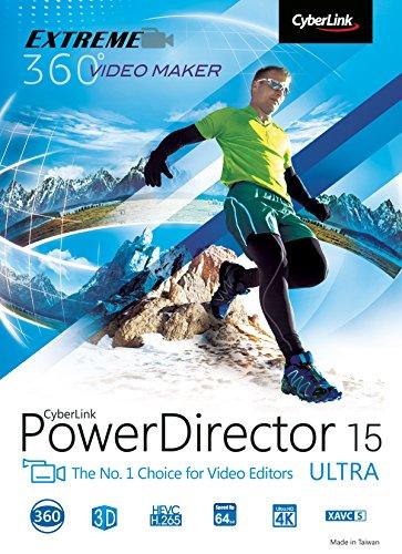 CyberLink PowerDirector 15 Ultra [Téléchargement]