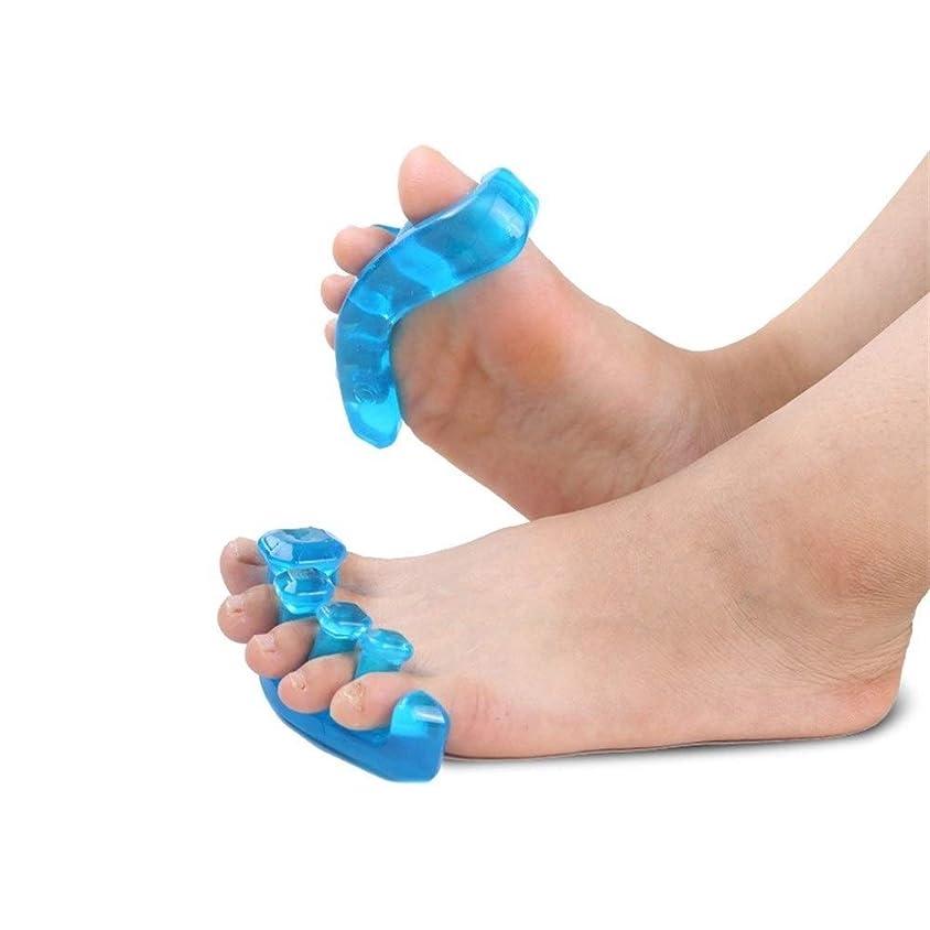 外側クレーン有料足指の区切り記号腱膜炎の痛みを軽減するための腱膜のためのつま先の区切り記号