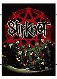 PHhomedecor Leinwanddrucke Poster Slipknot Heavy Metal