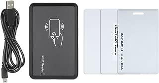 Galapara RFID Reader 125KHz USB Smart RFID ID Card Reader Kit Contactless & Proximity Dual Frequency Programmable Desktop Card Reader Door Access Control Sensor for MIFARE EM
