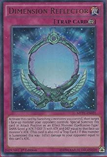 YU-GI-OH! - Dimension Reflector (MVP1-EN021) - The Dark Side of Dimensions Movie Pack - 1st Edition - Ultra Rare