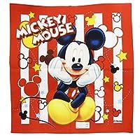 ランチクロス 男の子 女の子 お弁当ハンカチ お弁当グッズ 日本製 43×43cm Disney ディズニー ミッキーマウス レッド