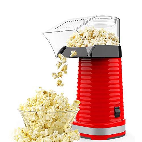 Verdelife Popcornmaschine, elektrische schnelle Popcornmaschine für Kinder Haushalts-DIY-Popcornmaschine mit Dosierabdeckung