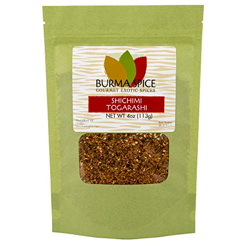 Shichimi Togarashi | Japanese Seven Spice Mix - 7 Spice Chilies | Ideal for Asian Cuisine 4 oz.