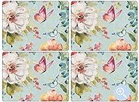Pimpernel Colorful Breeze Collection Placemats - Set of 4 [並行輸入品]