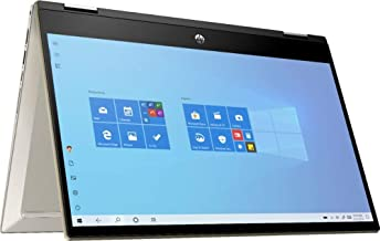"""Sponsored Ad - Latest_HP_Pavilion x360 2-in-1 14"""" FHD Touch-Screen Gold Laptop, 10th Gen Intel Core i5-1035G1, 8GB RAM, 25..."""