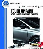 Mopar Chrysler Jeep Dodge Ram 4 in 1 Touch Up Paint Pen Brush Clear Coat Kit OEM (Plum Crazy Purple PHG)