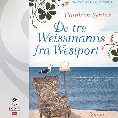 De tre Weissmanns fra Westport (Danish Edition) audiobook cover art