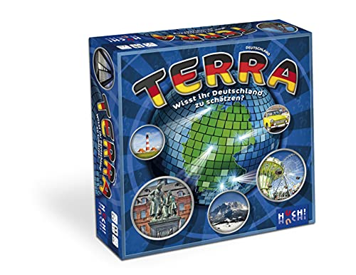 HUCH! 881380 Terra Deutschland Familienspiel, Neuheit
