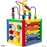 Play22 Activity Cube with Bead Maze - 5 in 1 Baby Activity Cube