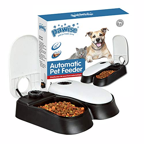 PAWISE Automatic Pet Feeder for Dogs and Cats $14.23 (38% Off)