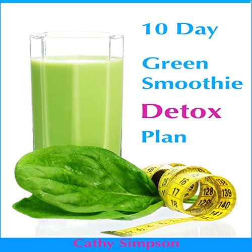 10-Day Green Smoothie Detox Plan audiobook cover art