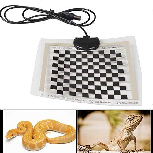Lailongp 5 Watt USB Reptil terrario riscaldamento animale domestico riscaldamento Pad caldo termostato cuscino riscaldante