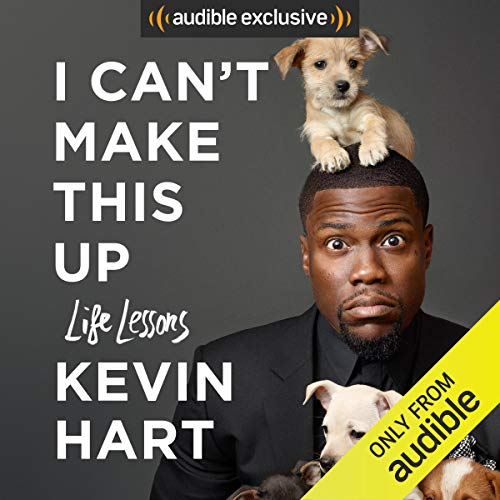 I Can't Make This Up     Life Lessons              By:                                                                                                                                 Neil Strauss - contributor,                                                                                        Kevin Hart                               Narrated by:                                                                                                                                 Kevin Hart                      Length: 11 hrs and 15 mins     37,918 ratings     Overall 4.7