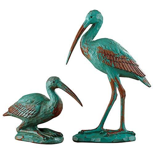 BLWX - Ambachten - Amerikaanse Imitatie Hout Oude Ornamenten Retro Thuis Wijnkast TV Kast Decoratie Sculptuur decoratie