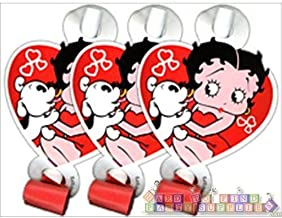 Betty Boop Party Blowouts 8 in Package Diecut