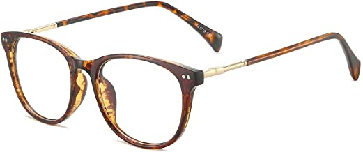 ANRRI Blue Light Blocking Glasses Computer Eyewear Lightweight Frame Eyeglasses (Tortoise)