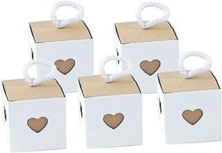 Amosfun 1 PCC cajones de Bombones,Cajas de Regalos de Chocolate,coraz/ón Hueco,Regalo de Compromiso,cumplea/ños.