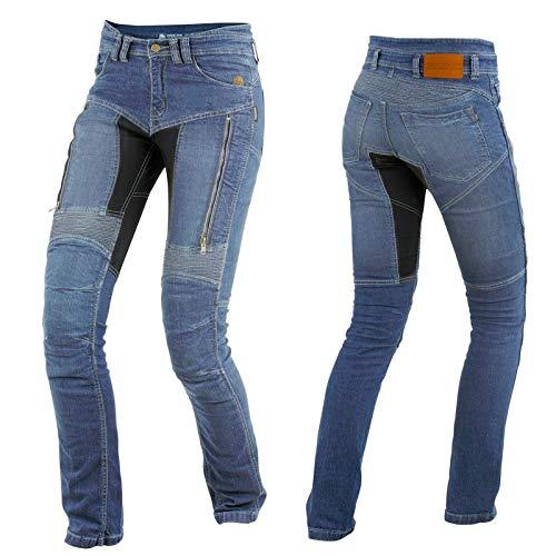 Trilobite Damen Motorrad Jeans PARADO Hose lang, 03066144, Größe 34/50