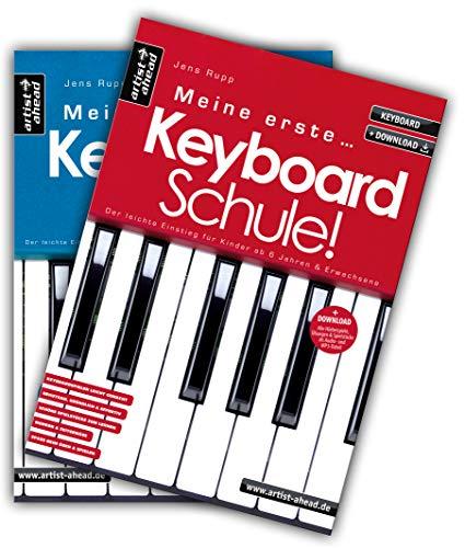 Meine erste Keyboardschule & Meine zweite Keyboardschule im Set! (inkl. Download). Lehrbuch für Keyboard. Spielbuch. Spielstücke. Keyboardnoten. ... ab 6 Jahren & Erwachsene (inkl. Download)