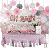 ❤️ 【ALL-IN-ONE BUDGET FRIENDLY DECORATION SET】 ► Save money, time and effort looking for overpriced Baby Shower Decorations at expensive retail stores. Our affordable set has everything you need to make your party sparkle which includes Latex, confet...