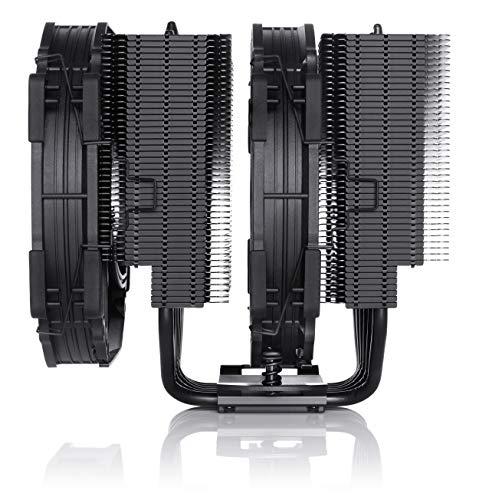 Noctua NH-D15 chromax.black, Disipador de CPU de Doble Torre (140 mm, Negro) 3