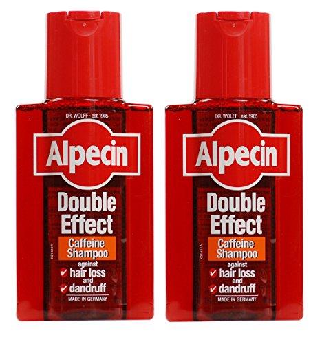Alpecin Doble Efecto Champú 200ml–pack de 2