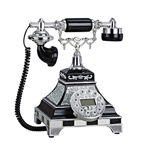 hmvlw Teléfono Retro Teléfono Antiguo, Modern Home Living Antiguo Creativo de telefonía Fija (Color : #1)