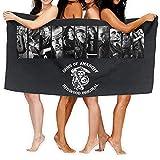Lsjuee Sons of Anarchy Toallas de Playa para Adultos Súper absorbentes Toallas de baño Manta para Viajes Piscina Camping