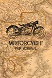 Motorcycle Trip Journal: Travel Log Book with Writing Prompts for Bikers and Motorcyclists | Motorcycle Trip Planner, Motorcycle Road Trip Book, Motorcycle Trip Log Book, Motorcycle Camping