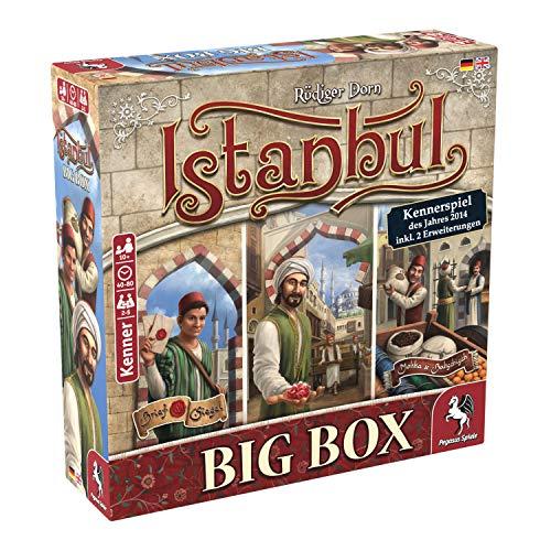 Pegasus spel 55119G - Istanbul Big Box kenteken van het jaar 2014