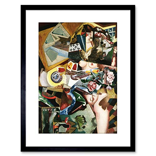 Wee Blue Coo LTD DE Souza CARDOSO COTY Small Framed Art Print F97X13191