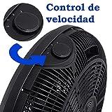 Zoom IMG-2 hanking planet ventilatore da pavimento