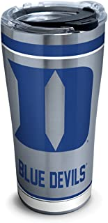 Tervis NCAA Duke Blue Devils Tradition Stainless Steel Tumbler With Lid, 20 oz, Silver