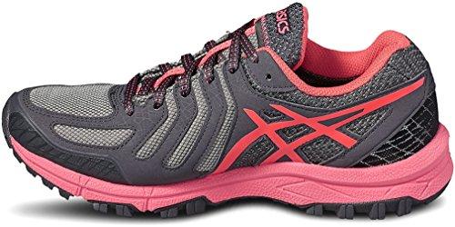 Asics Gel FujiAttack 5 GTX - Zapatillas de Running para Mujer, Color Gris