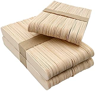 """KINGLAKE 150 Pcs 6"""" Garden Plant Labels,Natural Wood Craft Sticks for School Projects,Home Decoration"""