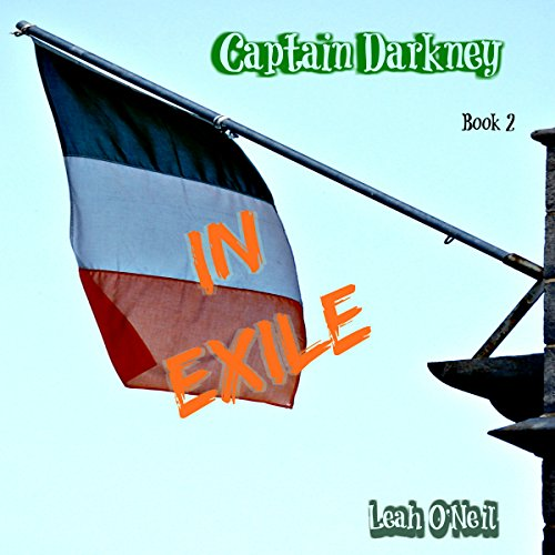 Captain Darkney in Exile audiobook cover art