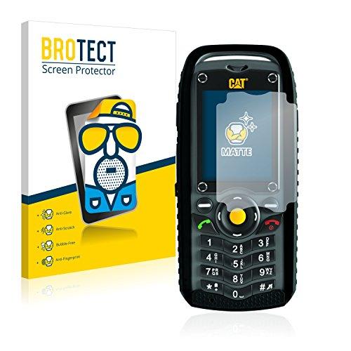 BROTECT 2X Entspiegelungs-Schutzfolie kompatibel mit Caterpillar Cat B25 Bildschirmschutz-Folie Matt, Anti-Reflex, Anti-Fingerprint