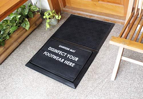 "Rugsmith Sanitizer Doormat, 24"" x 36"", Black"