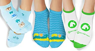 Controller Gear Animal Crossing: New Horizons Island Vibes Ankle Socks - 3 Pack - Authentic & Official Nintendo Animal Cro...