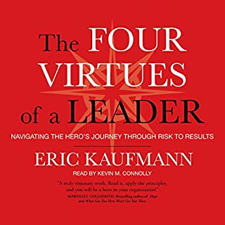 The Four Virtues of a Leader cover art