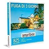 smartbox - Cofanetto Regalo - Fuga di 3 Giorni - Idee Regalo - Un Soggiorno di 2 Notti per 2 Persone